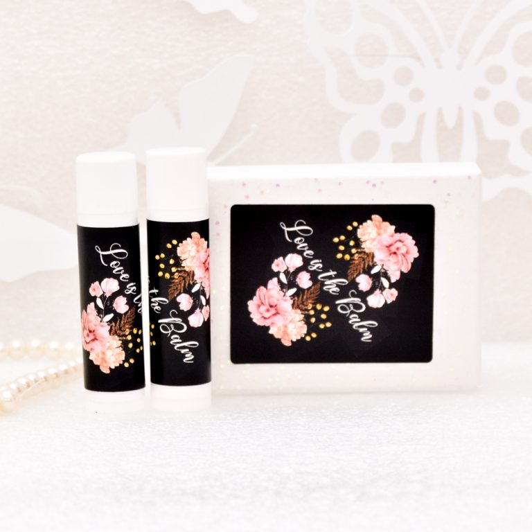 30 Lip Balm Wedding Favor Labels Party Decor