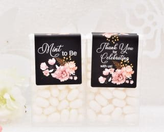 Custom Wedding Tic Tac Labels, Tic Tac Labels, Tic Tac Favors, Mint to Be Favor Labels