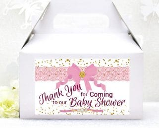 baby shower gable box