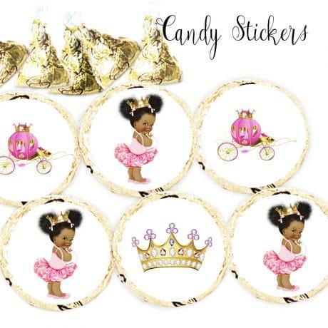 princess kiss stickers