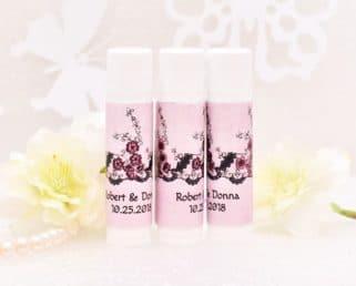 lace rustic lip balm labels