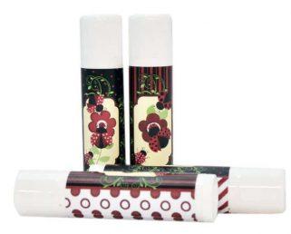 30 Ladybug Party Labels, Ladybug Lip Balm Favor Stickers, Ladybug Baby Shower