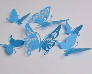 Butterfly Themed Party, 3D Paper Butterflies, Butterfly Decoration