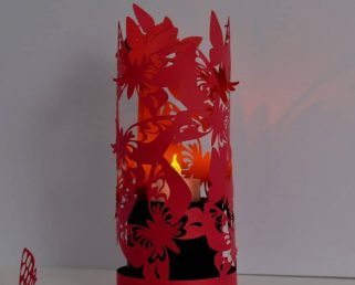 Butterfly Paper Lantern Lights, Children Room Decor, Room Luminary