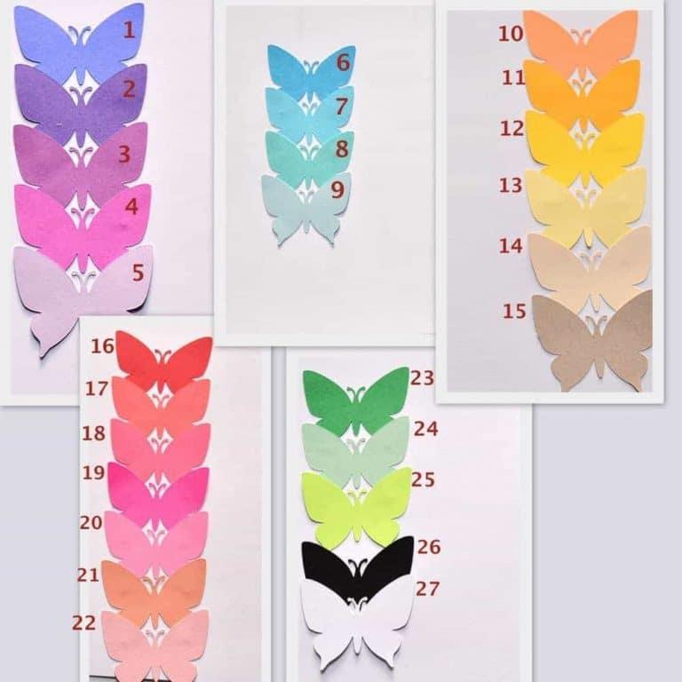 Giant Butterfly Wall Art 3D Butterfly, Butterfly Wall Decor – Party ...