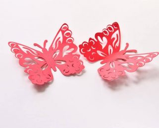 Butterfly Party Supplies, Butterfly Wall Decoration, Butterfly Paper Art
