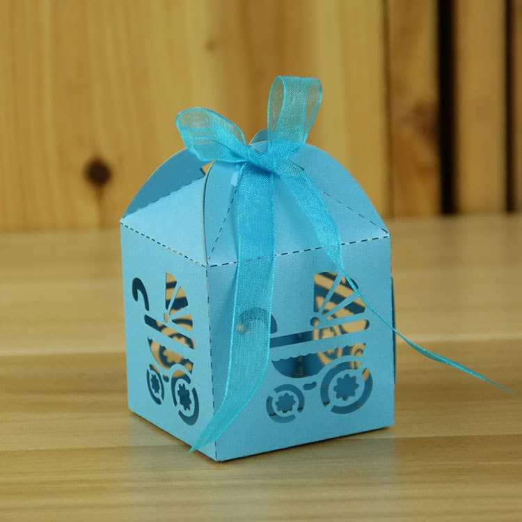 12 Baby Shower Carriage Party Favor Boxes Party Decor