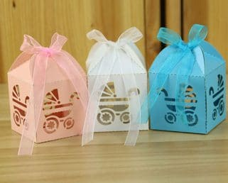 Baby Carriage Candy Boxes