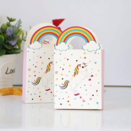 Unicorn Baby Shower Favor Box