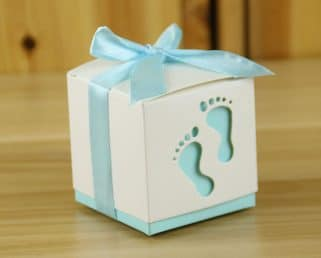 boy baby shower favor box