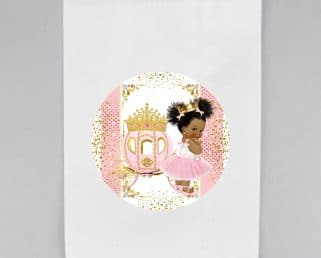 little princess merchandise bag labels