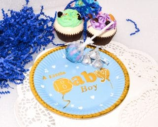 Boy Baby Shower Paper Plates
