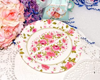 Rose Tea Party Paper Plates