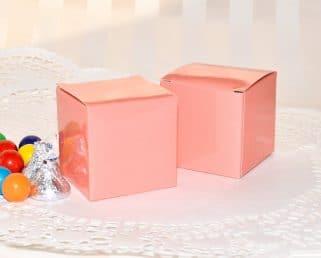 Peach Coral Birthday Box