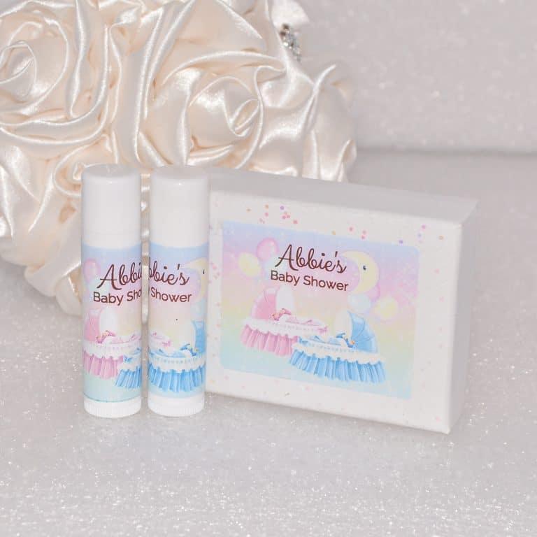 30 Gender Baby Shower Lip Balm Labels Baby Shower Gift Favors