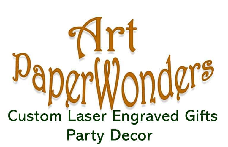 Personalized Laser Engraved Gifts and Party Decor